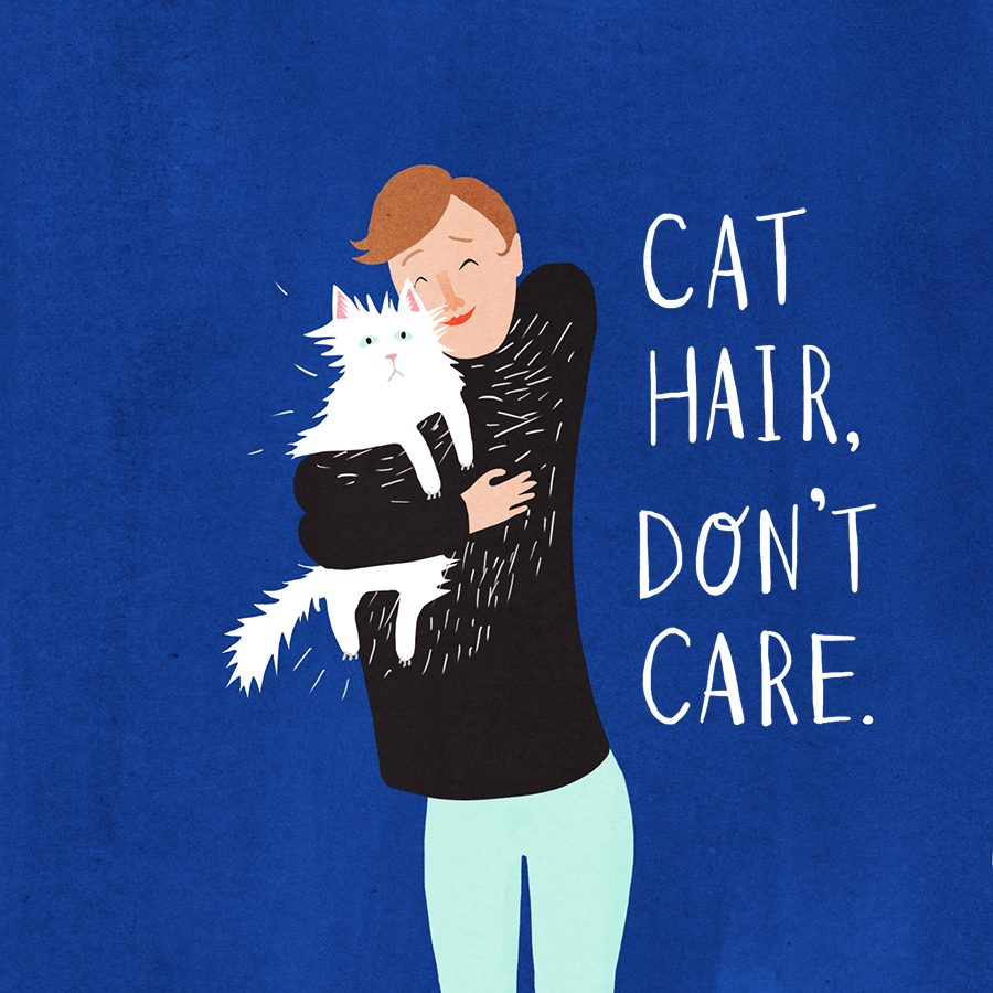 Crazy Cat Lady Book Illustration Agnes Loonstra